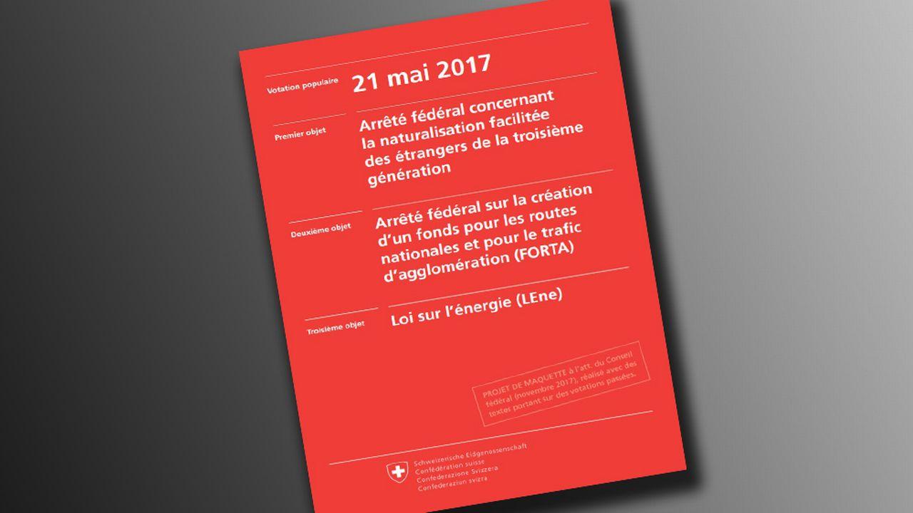 La nouvelle brochure de votations. [admin.ch]