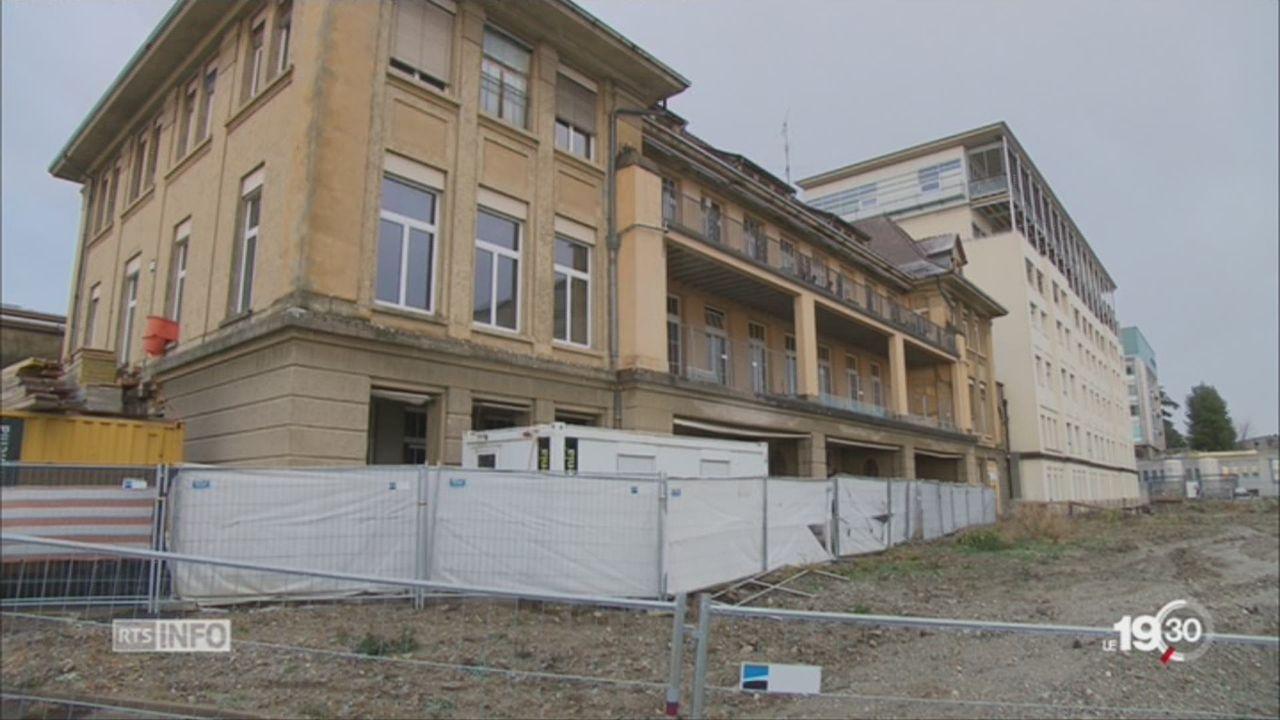Lausanne: la construction de l'hôpital de l'enfance menacée [RTS]
