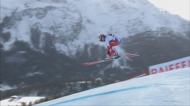 St. Moritz (SUI), Super G dames: Michelle Gisin (SUI) s'empare de la première place [RTS]