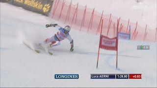 Val d'Isère (FRA), Géant messieurs 2e manche: la course Luca Aerni (SUI) [RTS]
