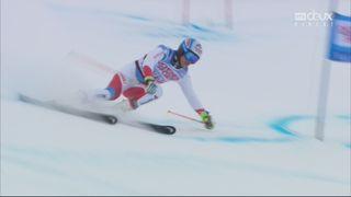 Val d'Isère (FRA), Géant messieurs 2e manche: le passage de Gino Caviezel (SUI) [RTS]