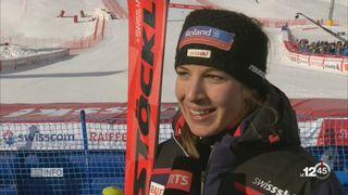 Ski alpin - Super-G dames: double victoire pour la Suisse [RTS]