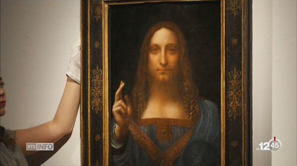 Tableau Le Plus Cher Du Monde Le Salvator Mundi De Leonard De Vinci A Disparu Rts Ch Arts Visuels