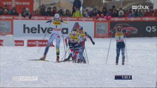 Sprint dames, Davos (SUI): victoire de Sina Nilsson (SUE) [RTS]