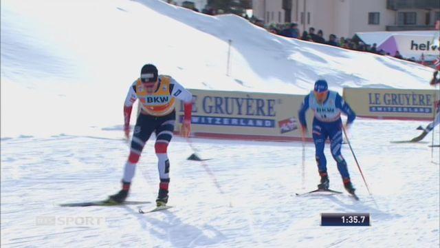 Sprint messieurs, Davos (SUI): victoire de Klaebo (NOR) [RTS]