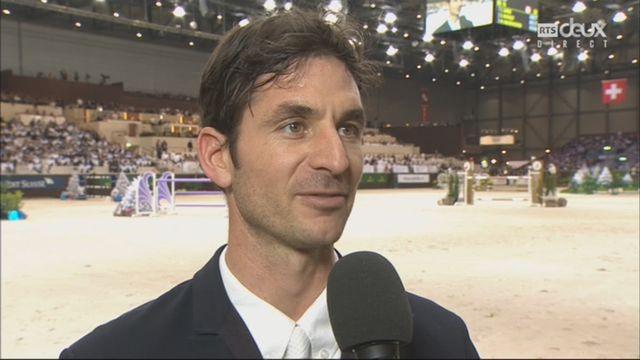 CHI Genève, top ten: l'interview de Steve Guerdat (SUI) [RTS]