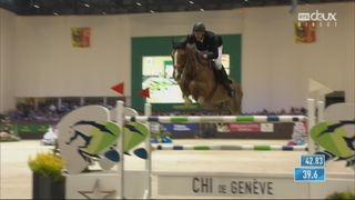 Hippisme - CHI Genève, top ten 2e manche: Kevin Staut (FRA) [RTS]