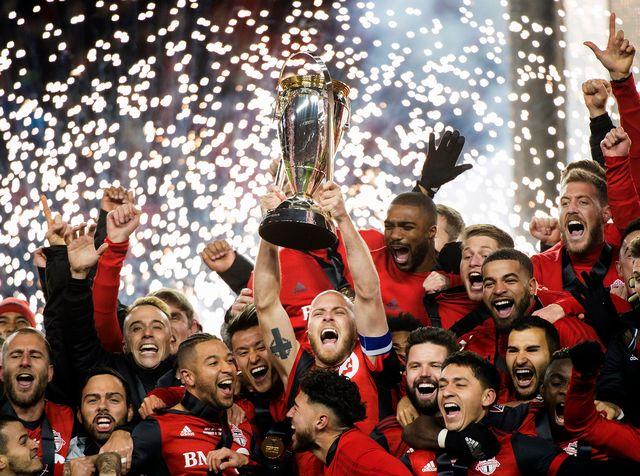 Toronto a bouclé la saison régulière avec 69 points (record de MLS égalé). [Nathan Denette - Keystone]