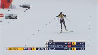 10 km dames, style libre, Davos (SUI): la Suissesse Natalie Von Siebenthal termine 5e [RTS]