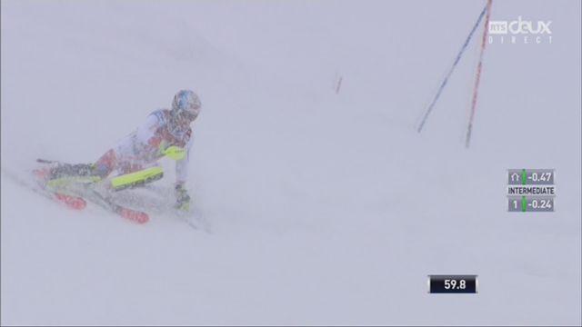 Slalom, Val d'Isère (FRA), 2e manche: Loic Meillard (SUI) [RTS]