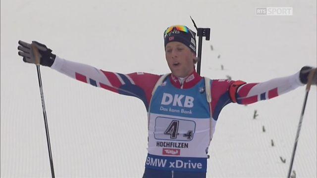 Relais messieurs 4x7.5km, Hochfilzen (AUT): la Norvège s'impose devant l'Allemagne et la France, la Suisse termine 7e et se qualifie pour les JO [RTS]