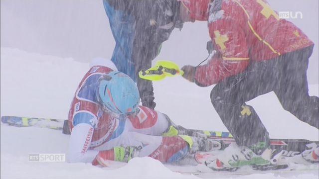 Ski alpin: les conditions climatiques n'ont pas été favorables aux Suisses [RTS]