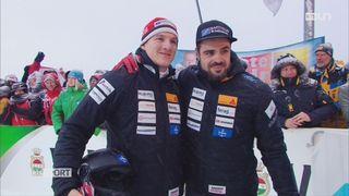 Sélection pour prochains JO: les Suisses ont brillé en bob et biathlon [RTS]
