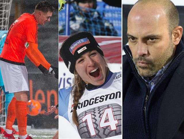 Kololli (LS), Flury et Gabri (Sion) ont marqué le week-end. [P.Gianinazzi/G.Auletta/ /L.Gillieron - Keystone]