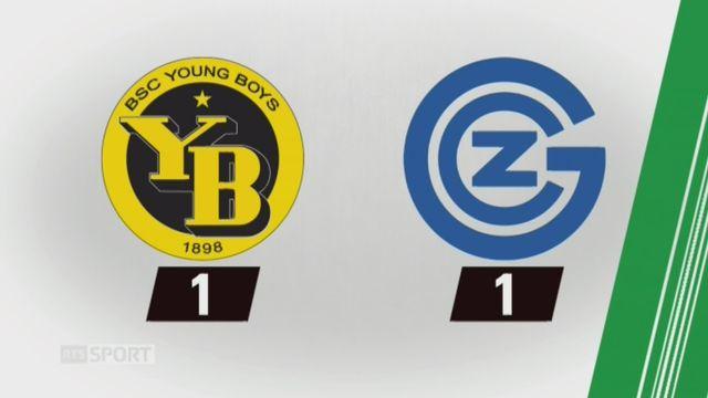 18e journée, Young Boys - Grasshopper (1-1): tous les buts de la rencontre [RTS]