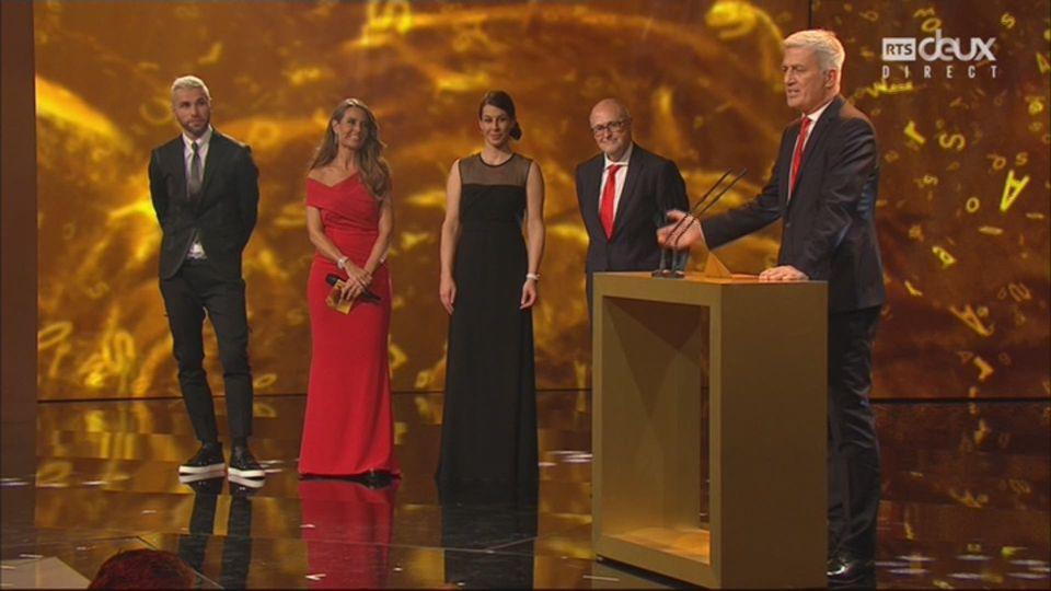 Sports Awards, équipe de l'année: la sélection Suisse de Petkovic remporte le trophée / RTS Sport Bonus / 05:25 / le 10 décembre 2017