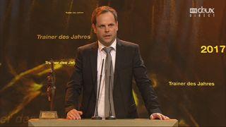 Sports Awards, entraîneur de l'année: Severin Luthi [RTS]