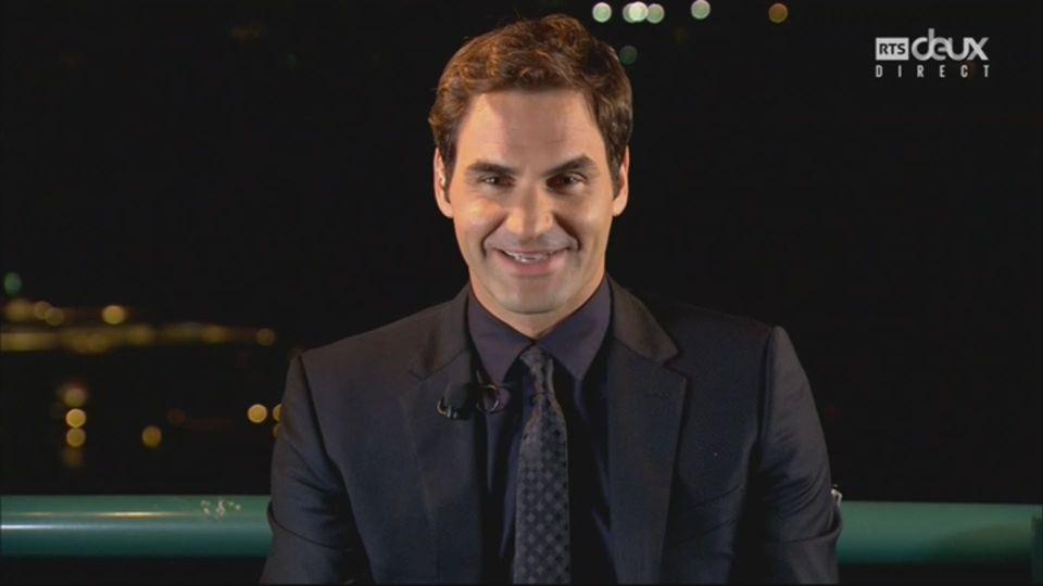 Sports Awards, sportif de l'année: Roger Federer [RTS]