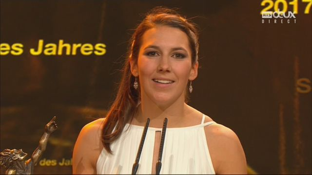 Sports Awards, sportive de l'année: Wendy Holdener [RTS]
