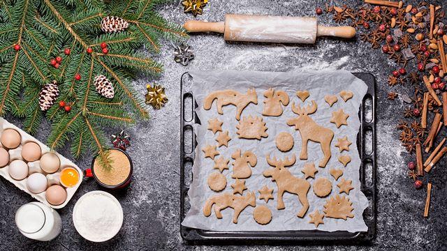 Le temps de cuisson des biscuits de Noël, un casse-tête quand on n'a pas de minuteur! [© madaland  - Fotolia]