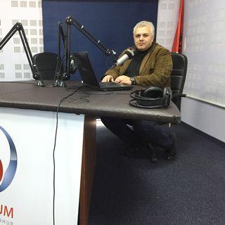 Agron Hoxha, porte-parole de la communauté islamique d'Albanie. [Cédric Guigon - RTS]