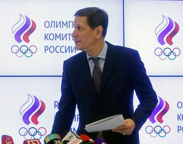 Joukov assure que son comité soutiendra les athlètes russes à 100%. [Sergei Chirikov - Keystone]