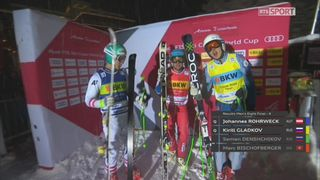 Ski Cross, Coupe du monde, Arosa (SUI), 1-8: élimination du Suisse Marc Bischofberger avant l'arrêt de la course [RTS]