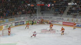 Hockey - NL (34e j.): Bienne - Lausanne (4-1) [RTS]