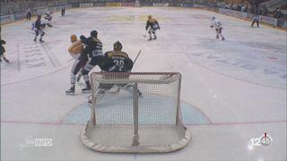 Hockey- LNA: Bienne domine Lausanne, Genève repasse au-dessus de la barre [RTS]