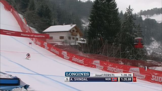 Ski - Super G: les Suisses n'ont pas brillé [RTS]