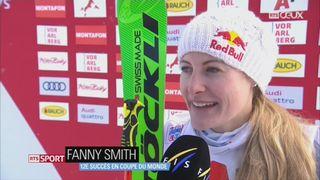 Skicross: Fanny Smith gagne son douzième succès en Coupe du monde [RTS]