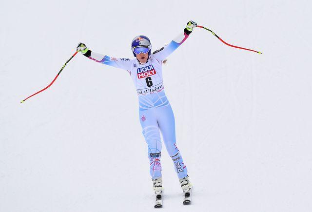 Quadruple lauréate du gros globe et double championne du monde, Vonn disputera ses derniers JO en février 2018. [Marco Tacca - Keystone]