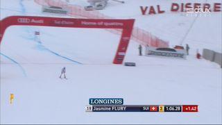 Val d'Isère (FRA), Super G: Jasmine Flury (SUI) [RTS]