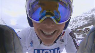 Val d'Isère (FRA), Super G: victoire de Lindsey Vonn (USA) devant Sofia Goggia (ITA) et Ragnhild Mowinckel (NOR) [RTS]
