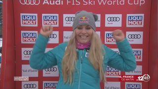 Ski alpin - Super-G Val d'Isère: Lindsay Vonn retrouve le goût de la victoire [RTS]