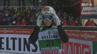 Concours individuel: Anders Fannemel (NOR) remporte le concours devant Freitag (GER) et Stoch (POL) [RTS]