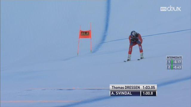 Ski alpin - Val Gardena: Aksel Svindal délivre une performance exceptionnel [RTS]