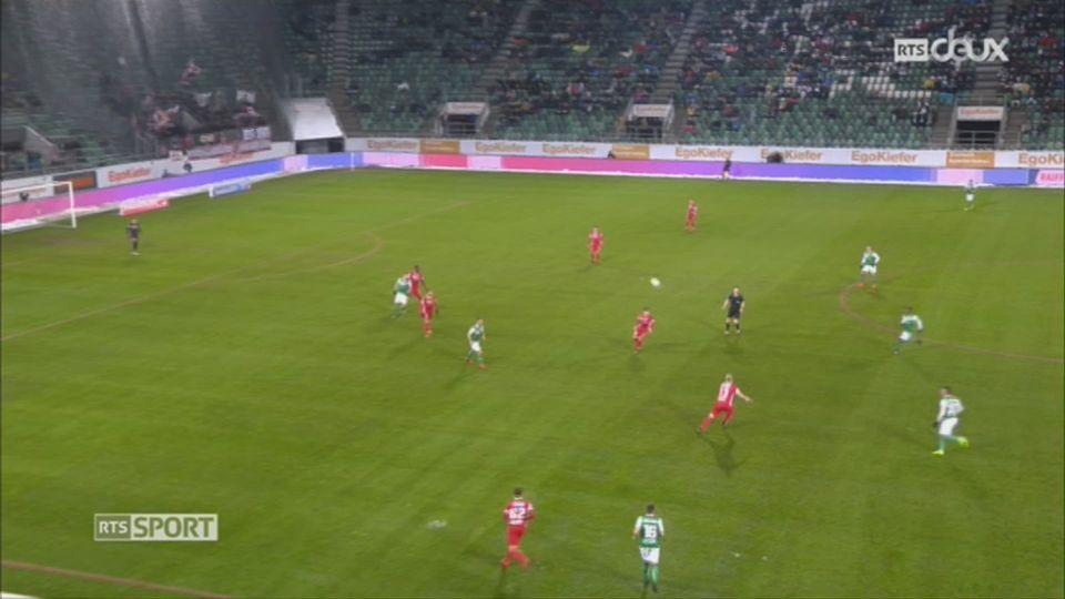 Football - Super League: Saint-Gall - Sion (3-2) [RTS]