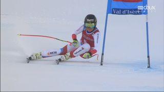 Val d'Isère (FRA), super G dames: Lara Gut (SUI) [RTS]