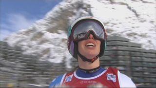 Val d'Isère (FRA), super G dames: Michelle Gisin (SUI) [RTS]