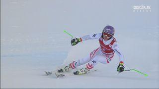 Val d'Isère (FRA), super G dames: Anna Veith (AUT) [RTS]
