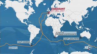 Voile: Gabart pulvérise le record du tour du monde en solitaire [RTS]