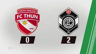 19e journée, Thoune - Lugano (0-2): tous les buts de la rencontre [RTS]