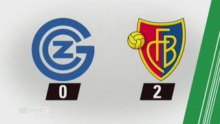 19e journée, Grasshopper - Bâle (0-2): tous les buts de la rencontre [RTS]