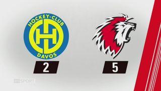 32e journée, Davos - Lausanne (2-5): tous les buts de la rencontre [RTS]