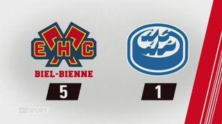 32e journée, Bienne - Ambri (5-1): tous les buts de la rencontre [RTS]