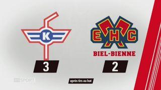 32e journée, Langnau - Zurich (2-1): tous les buts de la rencontre [RTS]