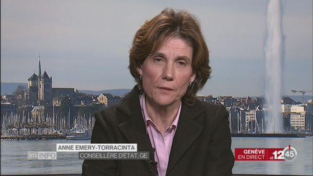 GE - Abus sur des élèves: la réaction d'Anne Emery-Torracinta, Conseillère d'Etat [RTS]