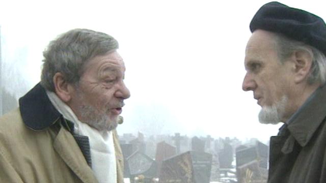 Claude Blanc et Emile Gardaz [RTS]