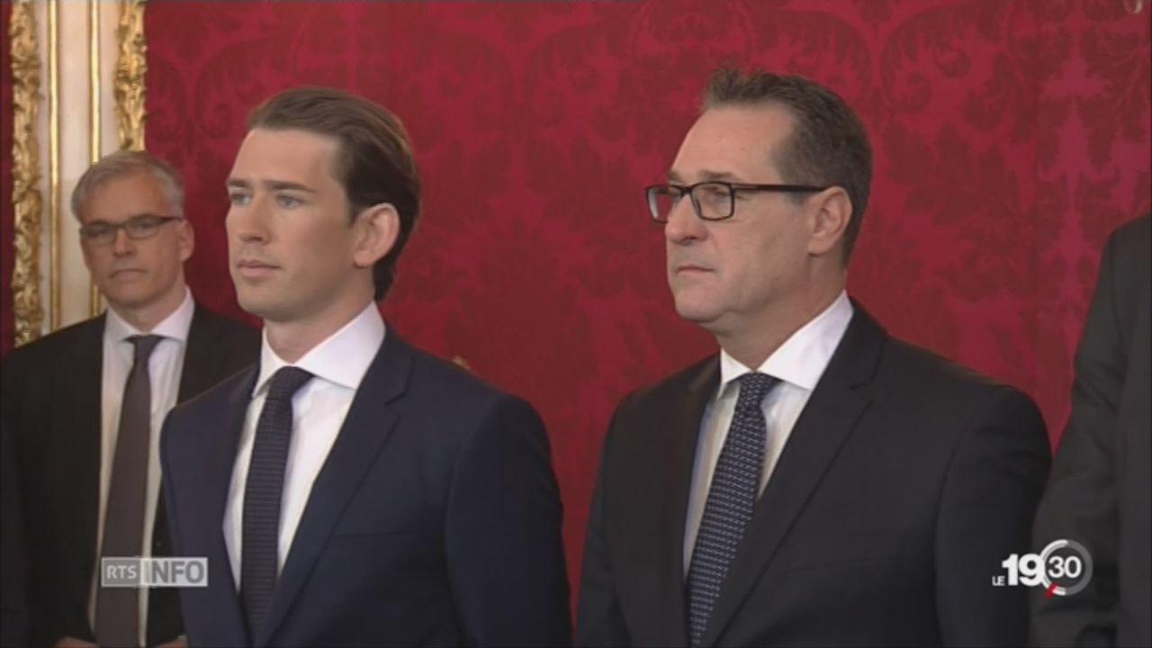 L'extrême-droite autrichienne décroche 6 sièges au gouvernement [RTS]